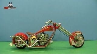 American Chopper Fire Bike Diecast Review, NYC Fire Fighters Tribute