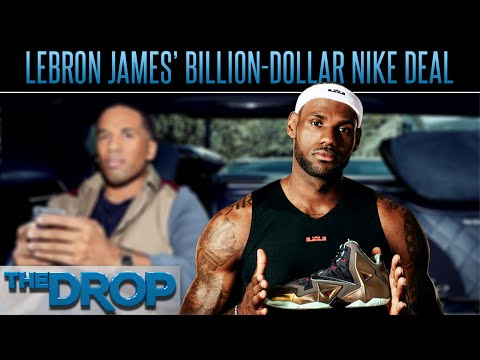 sports shoes 5ae1f 1d2b1 LeBron James  Nike Deal Worth Billions - The Drop Presented by ADD - YouTube