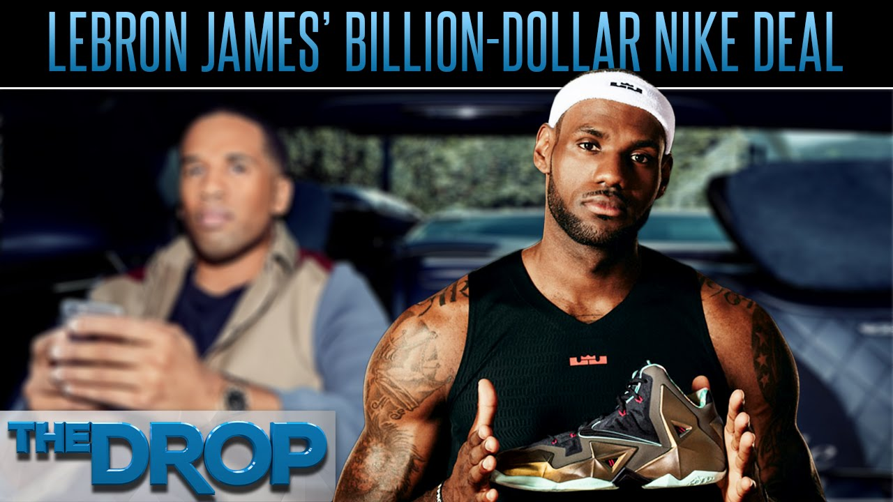 sports shoes 5bc35 995f9 LeBron James  Nike Deal Worth Billions - The Drop Presented by ADD - YouTube