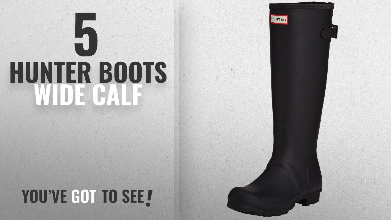 602431fd16cb Top 5 Hunter Boots Wide Calf  2018   Hunter Womens Original Back ...