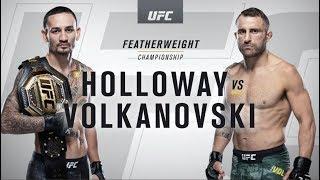 UFC 245: Max Holloway vs Alexander Volkanovski  Recap