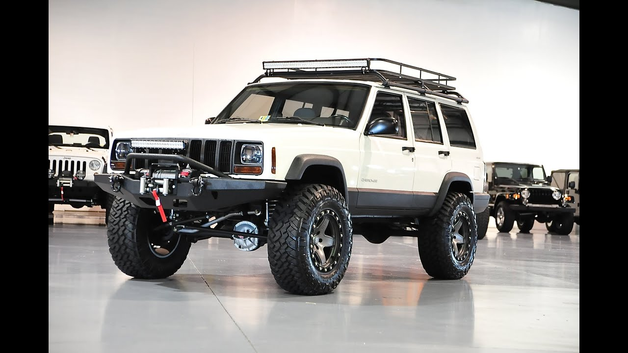 Lifted Jeep Xj >> Davis AutoSports JEEP CHEROKEE XJ SPORT LIFTED / STAGE 3+ FOR SALE - YouTube