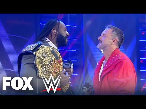 Booker T takes David Arquette to Promo School   WWE BACKSTAGE   WWE ON FOX