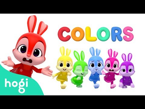Learn Colors With Jeni | Pinkfong & Hogi | Colors For Kids | Learn With Hogi