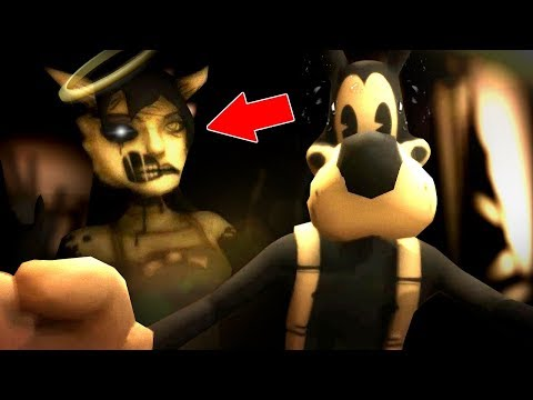 EVIL ALICE ANGEL IS AFTER BORIS! | Bendy and The Ink Machine Chapter 3 GAMEPLAY (AIice Angel ENDING)