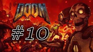 Прохождение Doom 10 Знакомство с пинками