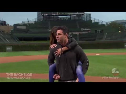 Ben and JoJo Visit Wrigley Field - The Bachelor