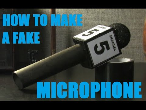How To Build A Prop Microphone Youtube