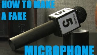 How to build a prop microphone