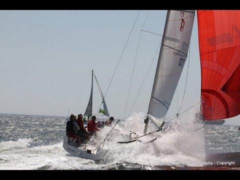 Sports boat doing 19 knots - Crocs Regatta 2012 - Cape Town