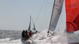 Sports boat doing 19 knots - Crocs Regatta 2012 - Cape Town