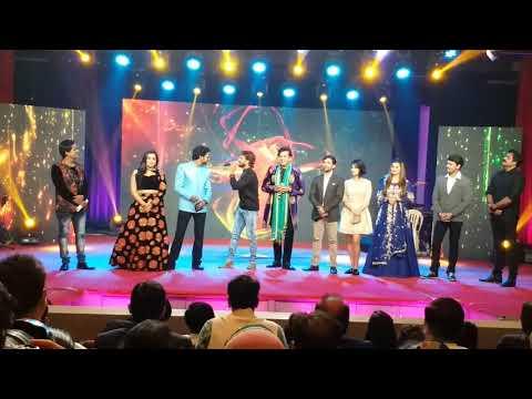 एक ही स्टेज पर तीन स्टार Dinesh Lal Yadav , Ravi Kishan , Khesari Lal Yadav | Award Show 2017