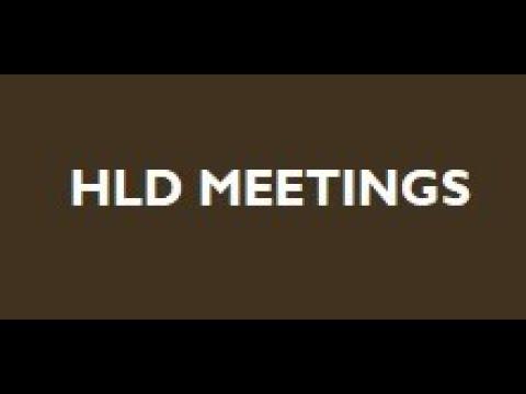 HLD Meetings