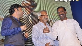 Kadal Press Meet  Ar Rahman Performing  Maniratnam, Aravind Samy, Karthick, Arjun  Interview