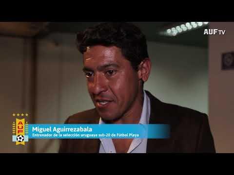 Lanzamiento y sorteo del fixture del Sudamericano Sub-20 de Fútbol Playa Uruguay 2017