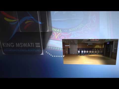 KING MSWATI III IINTERNATIONAL AIRPORT GRAPHIC ANIMATION