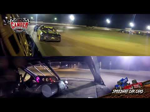 #48M Bobo Mcghee - Hummer - 7-27-19 Camden Speedway - In-Car Camera