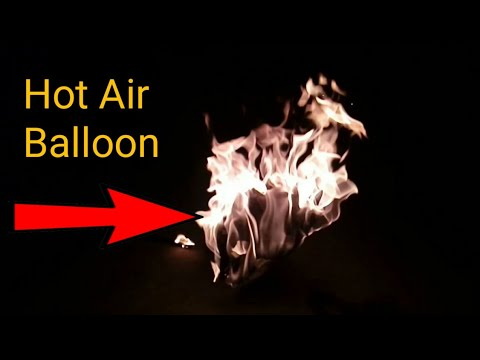 how to make a paper hot air balloon | Hot air balloon kaise banaye | By RG Solution And Experiments