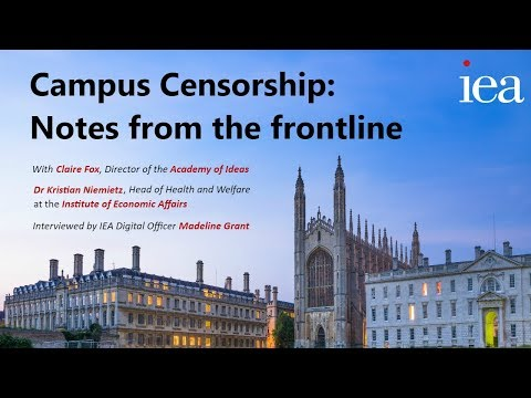 Campus Censorship: Notes from the Frontline