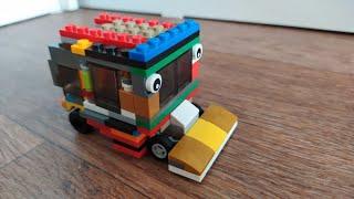 Lego МАШИНА с глазами