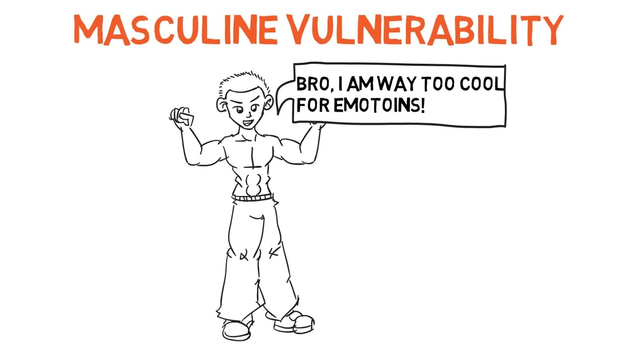 How to show vulnerability to a man