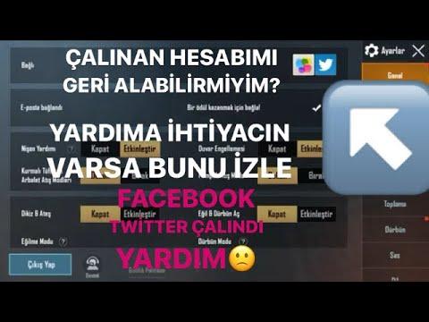 Pubg Mobile (facebook) (Twitter) GİRİŞ BAŞARISIZ !! PUBG MOBİLE SUNUCU DOĞRULAMA HATASI