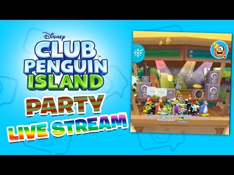 Club Penguin Island Party Live