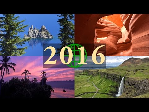 2016 Rewind: Amazing Places on Our Planet in 4K Ultra HD
