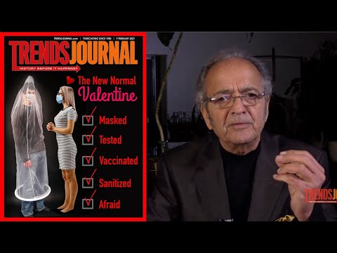Trends Journal: The New Normal Valentine, Masked, Tested, Vaccinated, Sanitized, Afraid