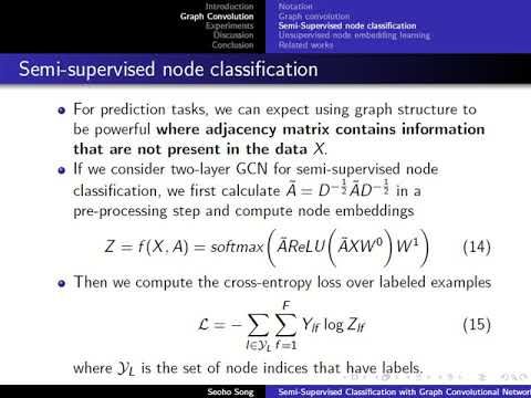 Semi-supervised Classification With Graph Convolutional Networks