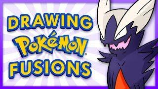 Drawing Random Pokemon Fusions