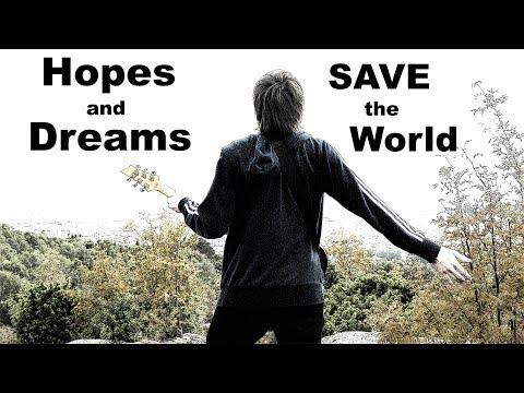 4K - Hopes and Dreams / SAVE the World - Guitar Cover - Lead / Rhythm