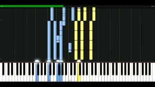 Beyonce - Broken hearted girl [Piano Tutorial] Synthesia   passkeypiano