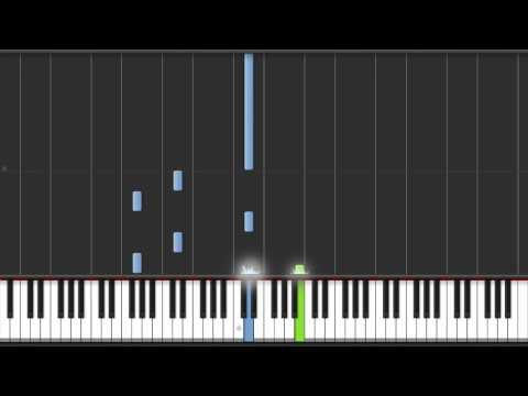 How to Play One Direction Little Things on Piano - with Free Sheet Music - 50% + 100% Speed
