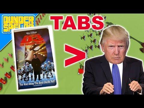 Download Youtube: MIGHTY DUCKS BESEGRAR DONALD TRUMP (TABS)
