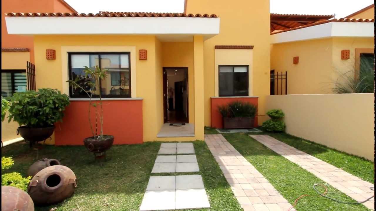 Casa en san antonio tlayacapan casa jardines 3 terminada - Ver jardines de casas ...