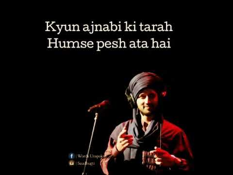 Jab Rulana Hi Tha Song | Atif Aslam | WhatsApp Video