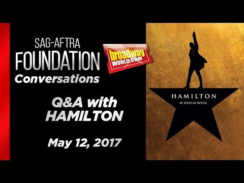 Conversations on Broadway: HAMILTON
