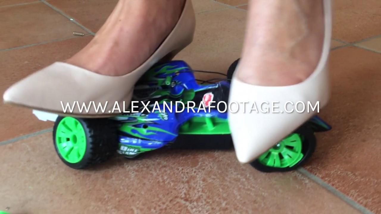 MissgeschickAlexandra Footagetoy Mamas Car Heels CrushHigh qSMVGUzp