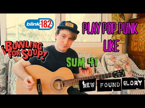 Write Pop Punk riffs like Blink, Sum 41, NFG, and more!