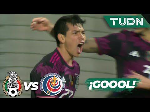 ¡Gol de 'Chucky'! Gol de México | México 1-0 Costa Rica | Amistoso Internacional 2021 | TUDN