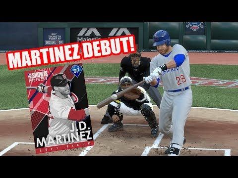 97 Finest JD Martinez Debut! - MLB The Show 18 Diamond Dynasty Gameplay