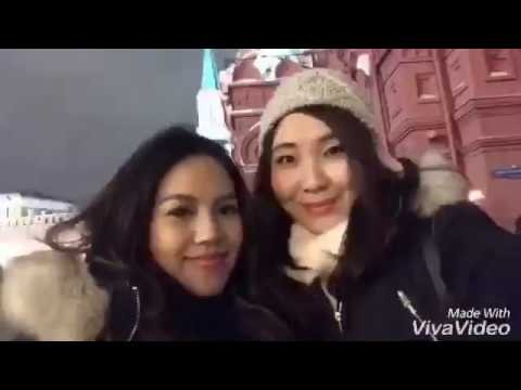 Russia Travel Vlog 2016 : Moscow
