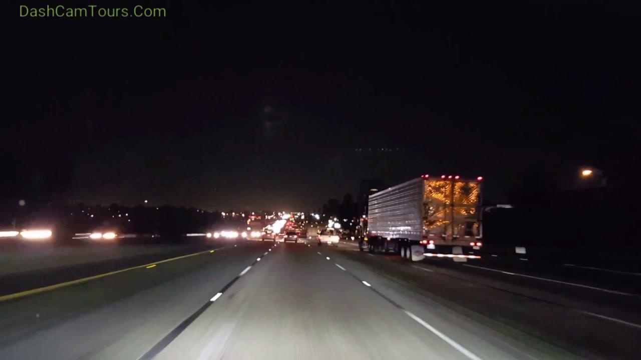 Night Driving On California Fr...