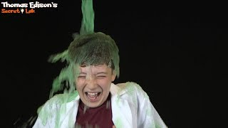 Science Experiments Gravity Music Video and Slime DIY