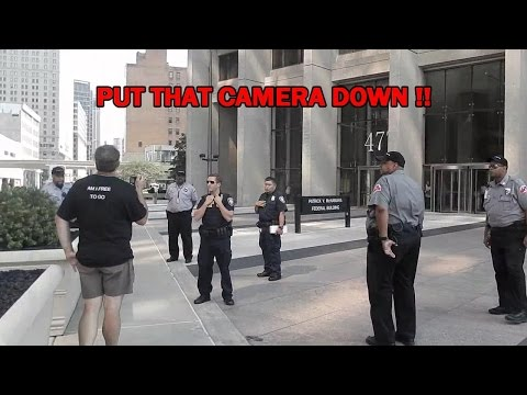 SILENT 1st AMENDMENT AUDIT - FEDERAL BUILDING DETROIT, MI