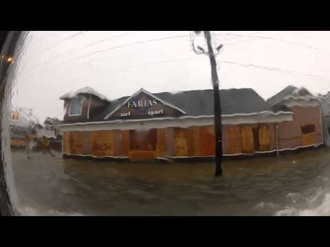 Hurricane Sandy - Evacuating LBI