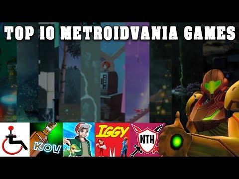 Top 10 Best Games in the Metroidvania Genre