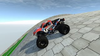 High Speed Jumps | Crashes #81 - BeamNG Monster Truck, Police car, Ambulance, Fire Truck