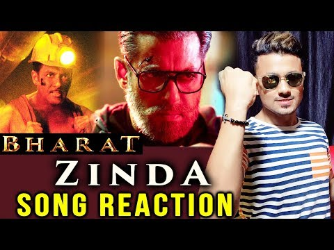 ZINDA Song Reaction | BHARAT | Salman Khan, Katrina Kaif, Disha Patani, Sunil Grover